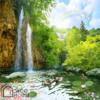 Tranh phong thủy thác nước 15492
