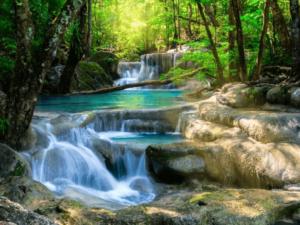 Tranh suối nước đẹp 13086