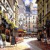 Tranh vẽ thành phố 130